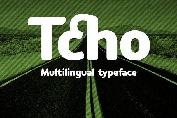 Download Tcho font (typeface)
