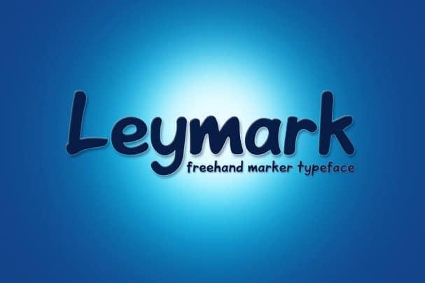 Download Leymark font (typeface)