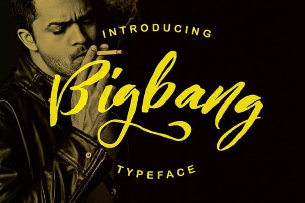 Download Bigbang Typeface font (typeface)