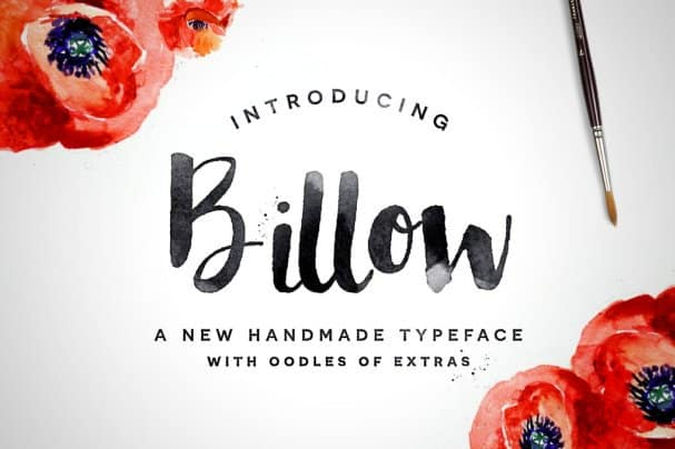 Download Billow font (typeface)