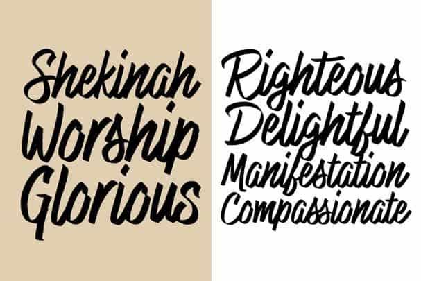 Download Highest Praise font (typeface)