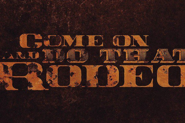 Download Rodeo Typeface font (typeface)