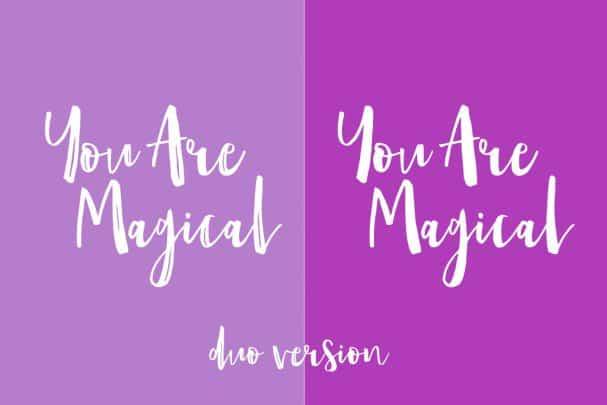 Download Amist Mystical Script font (typeface)