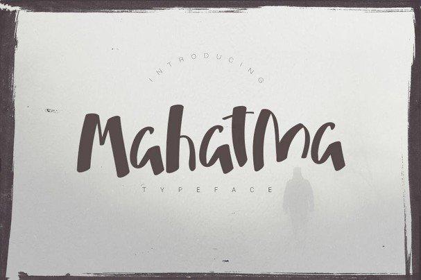 Download Mahatma Typeface font (typeface)