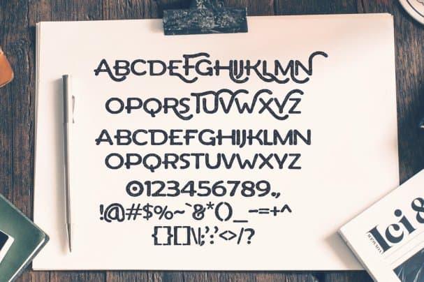 Download Arthur Typeface font (typeface)