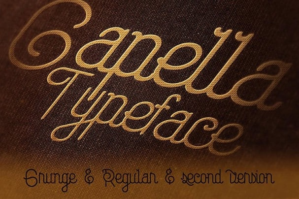 Download Capella Typeface font (typeface)
