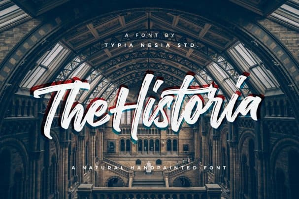 Download The Historia font (typeface)