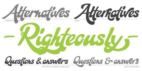 Download Martinaz font (typeface)