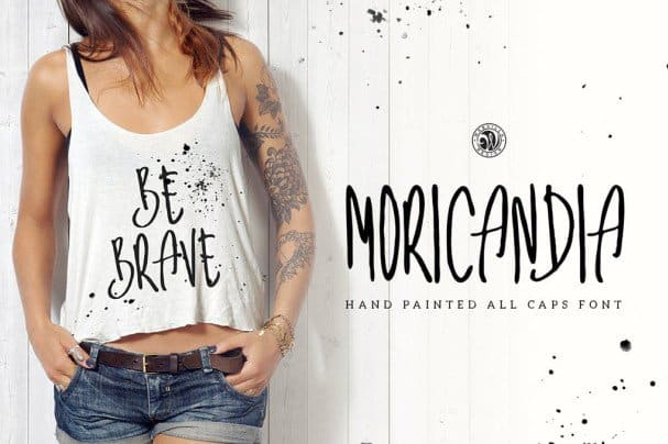 Download Moricandia Font font (typeface)