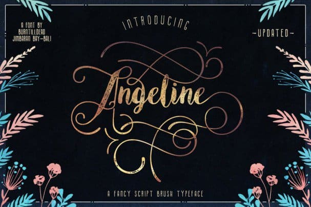 Download Angeline font (typeface)