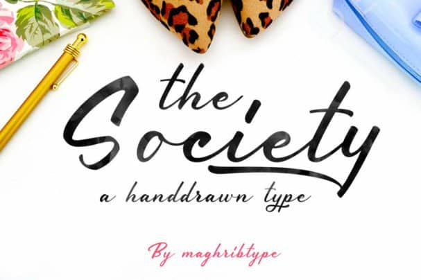 Download Society font (typeface)