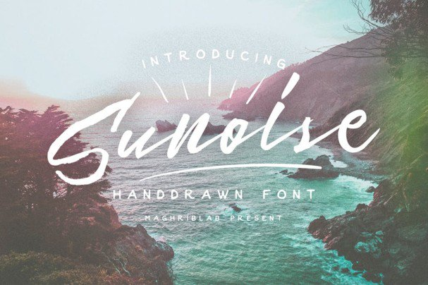 Download Sunoise font (typeface)