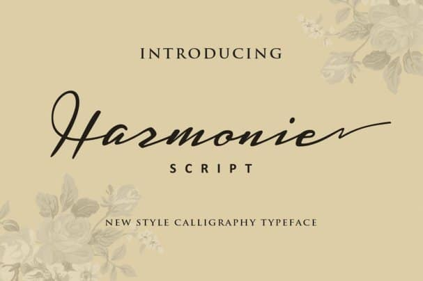 Download Harmonic font (typeface)