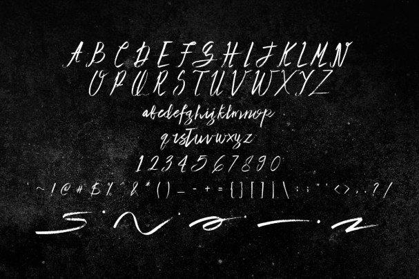 Download Lote Santos font (typeface)