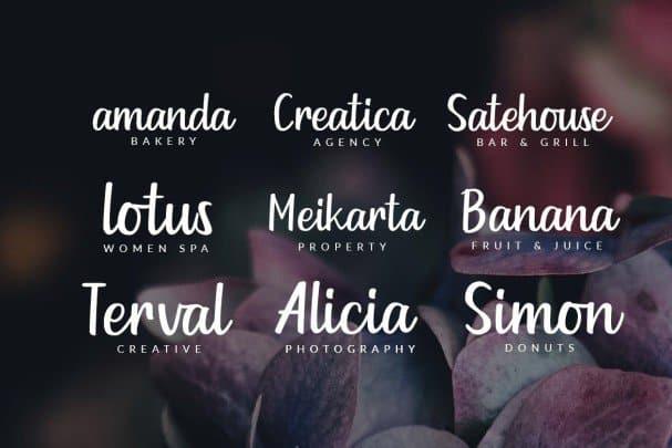 Download Goldiana Script font (typeface)