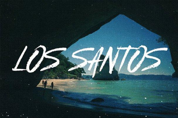 Download Los Santos - Typeface font (typeface)