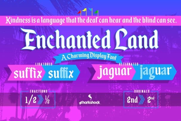 Download Enchanted Land font (typeface)