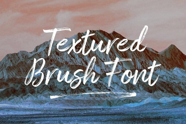 Download Amithen Brush Font font (typeface)