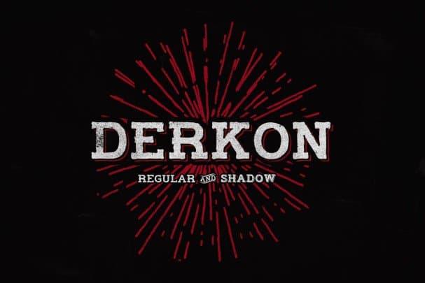 Download Derkon Headline font (typeface)