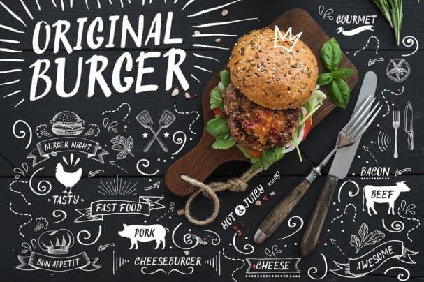 Download Original Burger Font font (typeface)