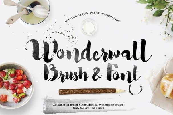 Download Wonderwall font (typeface)