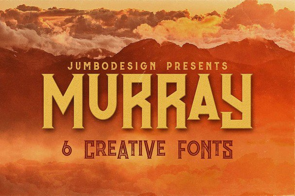 Download Murray - Vintage Style Font font (typeface)