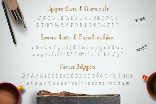 Download Bistro Font font (typeface)