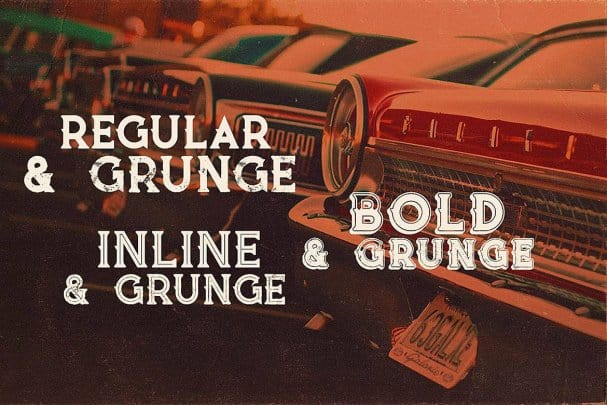 Download Vultron - Vintage Style font (typeface)