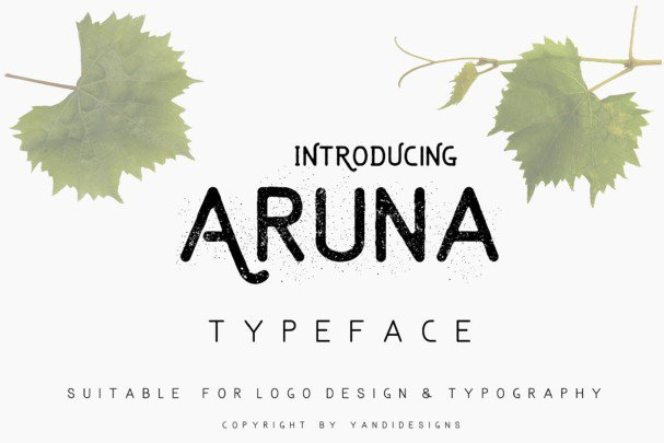 Download Aruna font (typeface)