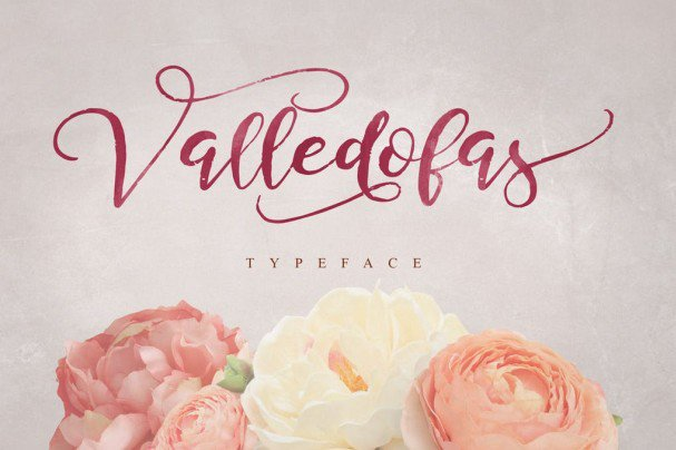 Download Valledofas Typeface font (typeface)