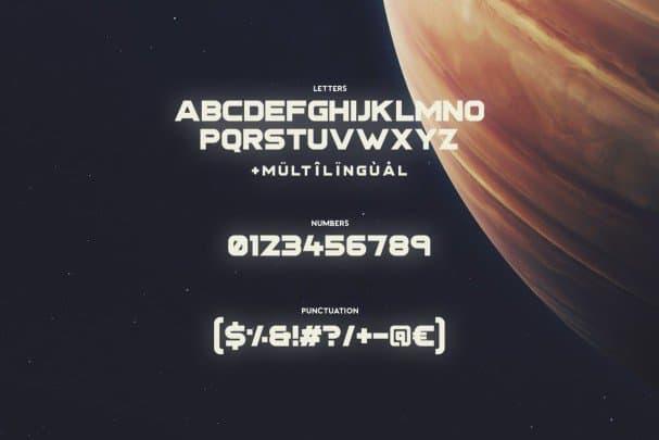 Download Stargaze Typeface font (typeface)