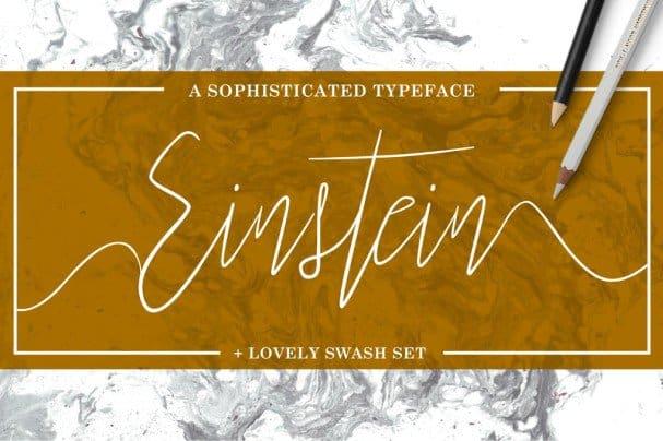 Download Einstein font (typeface)