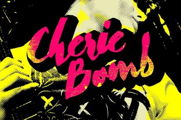 Download Cherie Bomb font (typeface)