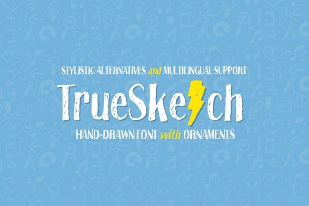 Download Truesketch font (typeface)
