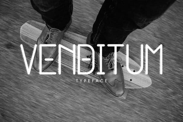 Download Venditum Typeface font (typeface)