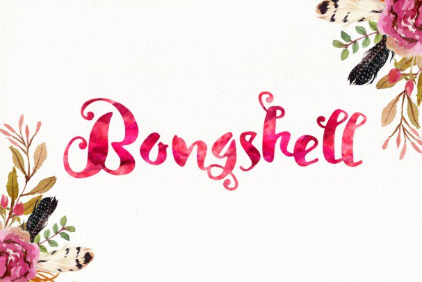 Download Lady Rose Script font (typeface)