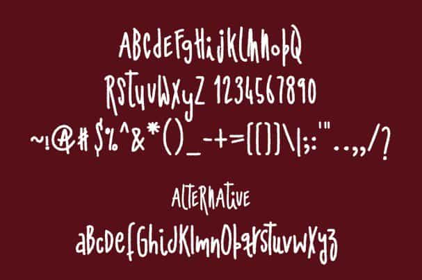 Download Ashial- Chalky Style font (typeface)