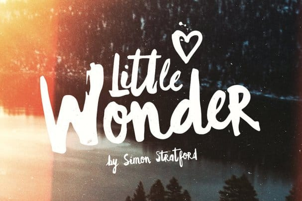 Download Little Wonder font (typeface)