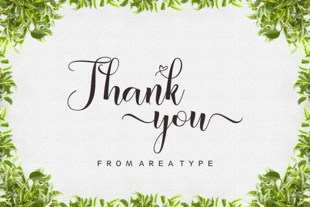 Download Amberland Script font (typeface)