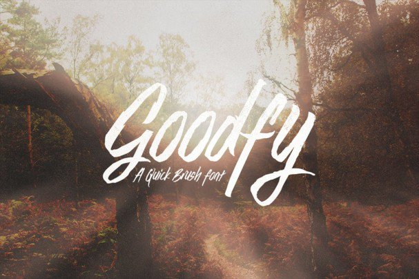 Download Goodfy font (typeface)