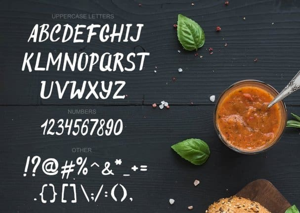 Download Original Burger font (typeface)