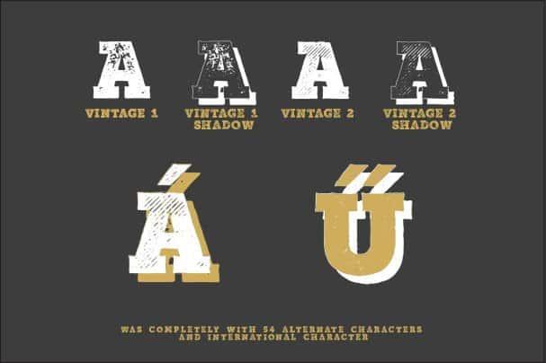 Download Mutiara Vintage font (typeface)