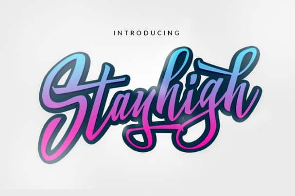 Download Stay High font (typeface)