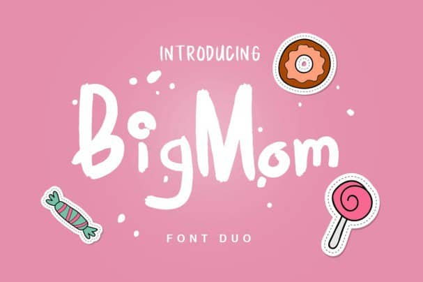 Download Big Mom Duo font (typeface)