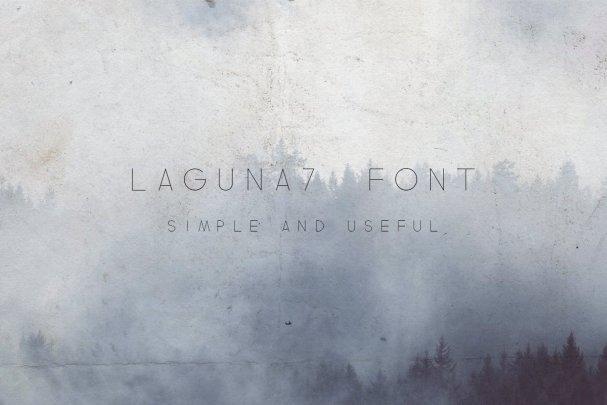 Download Laguna7 font (typeface)