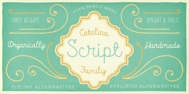 Download Catalina Avalon font (typeface)