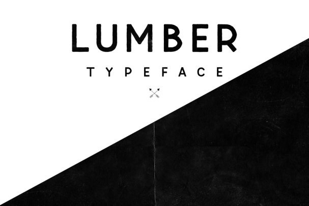 Download Lumber Typeface font (typeface)