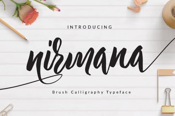 Download Nirmana font (typeface)