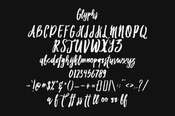 Download Habbit Typeface font (typeface)