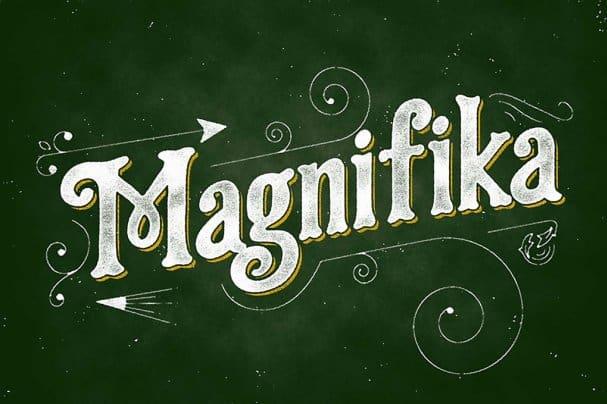 Download Magnifika font (typeface)